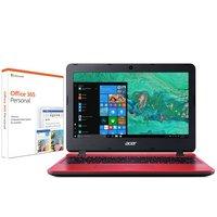 Acer Aspire 1 11 Inch Celeron 2GB 32GB Cloudbook - Red