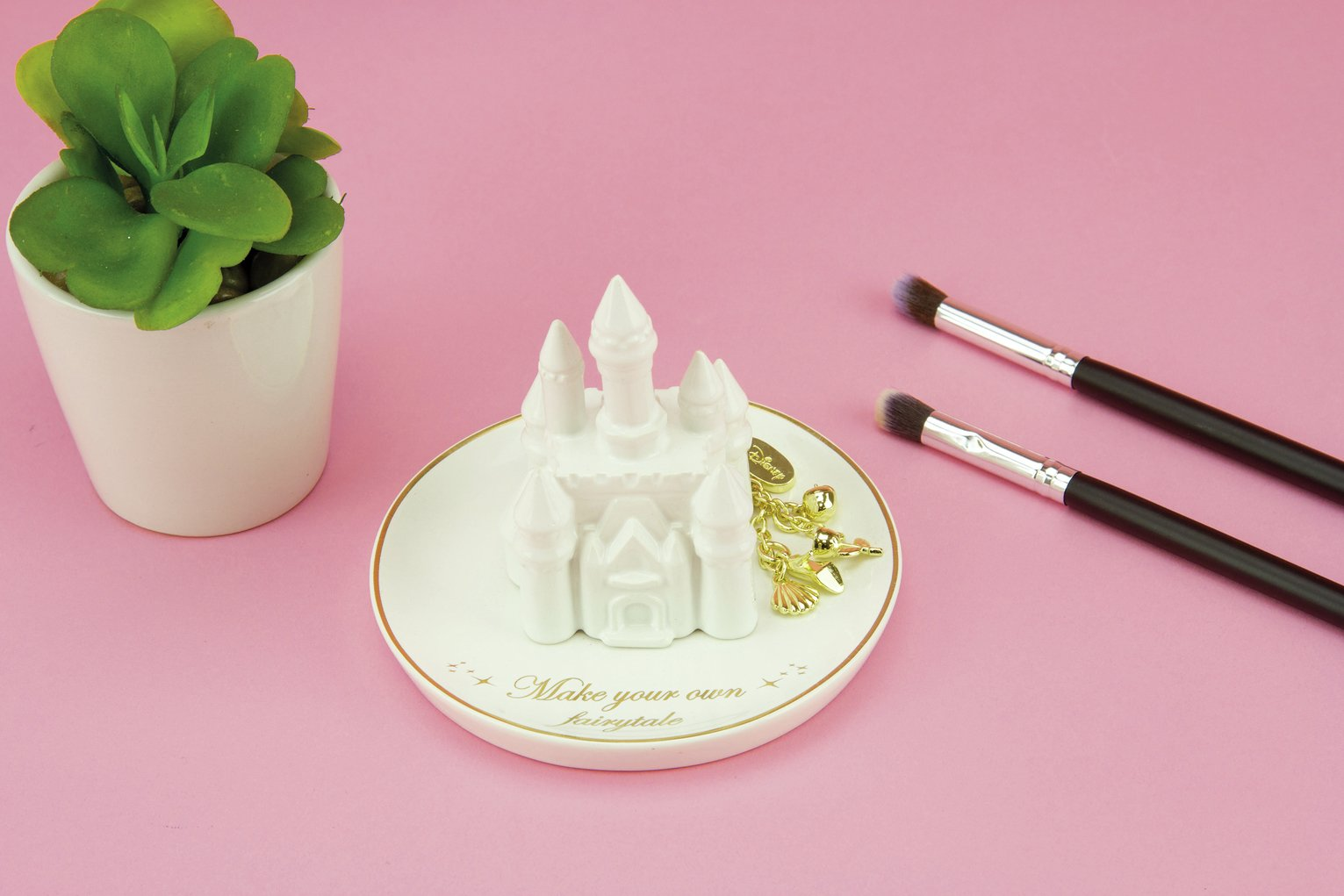 Disney Princess Castle Ceramic Trinket Dish