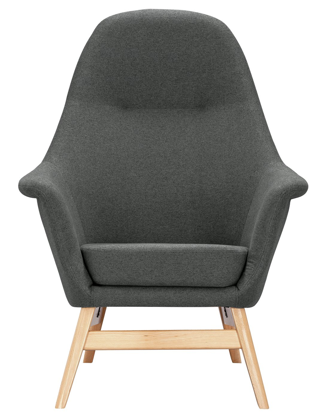 Argos Home Reuben Fabric Armchair - Charcoal