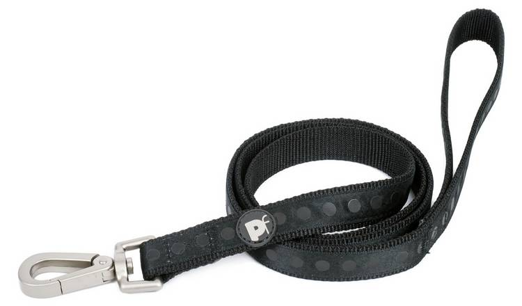 Petface Black Tonal Dots Pet Lead - Medium