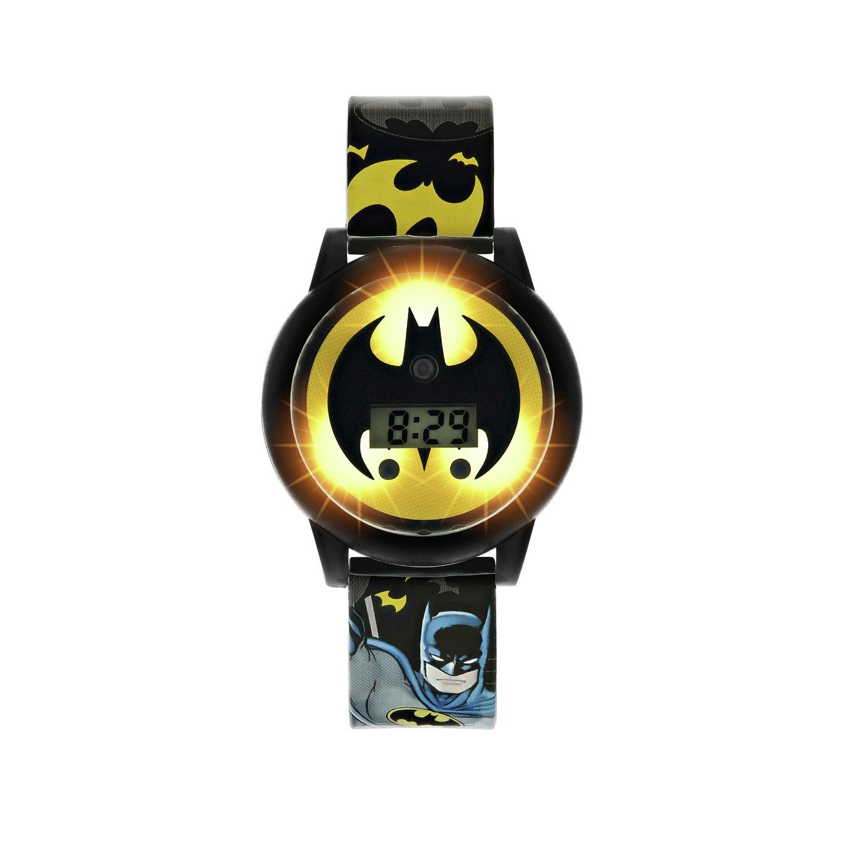 DC Comics Batman Light Up Spinning Dial Watch