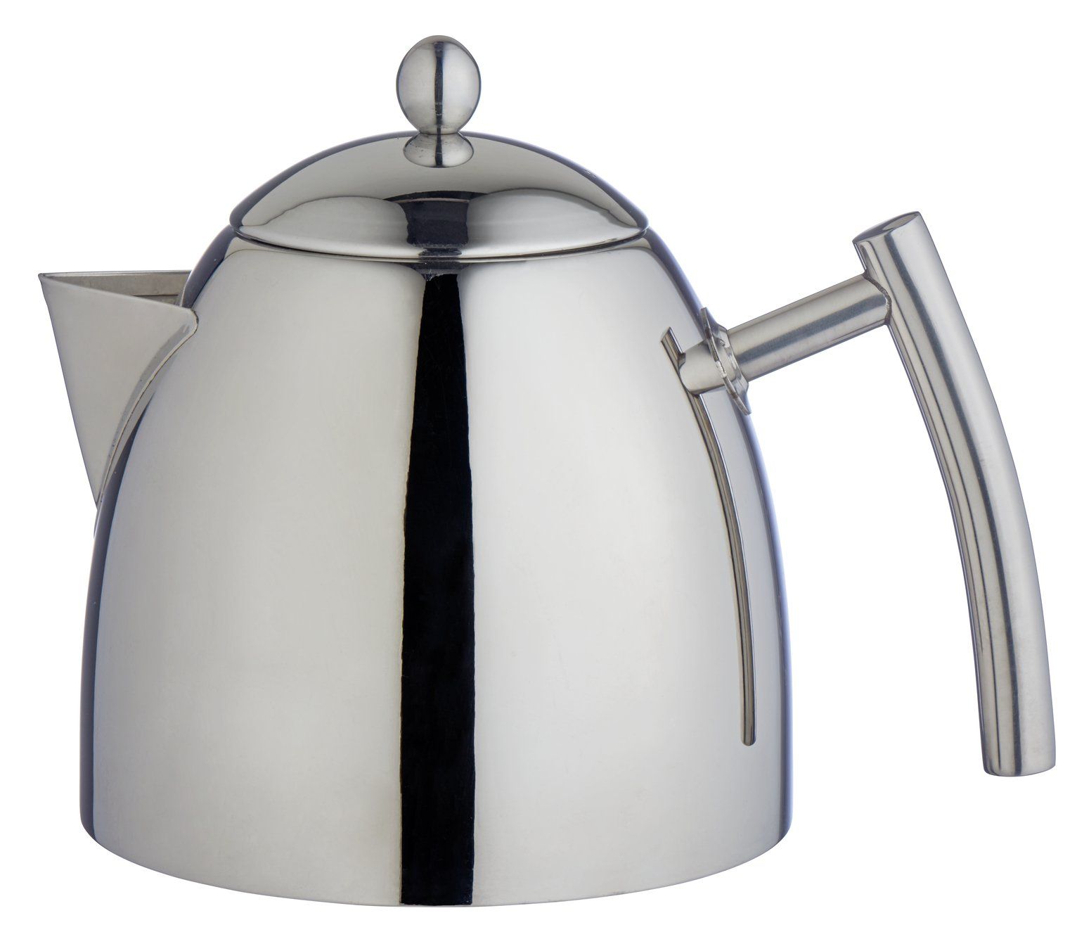 Argos Home Stainless Steel Glory Teapot