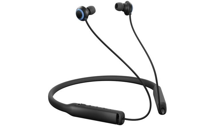 Jam Contour In-Ear ANC Bluetooth Headphones - Black