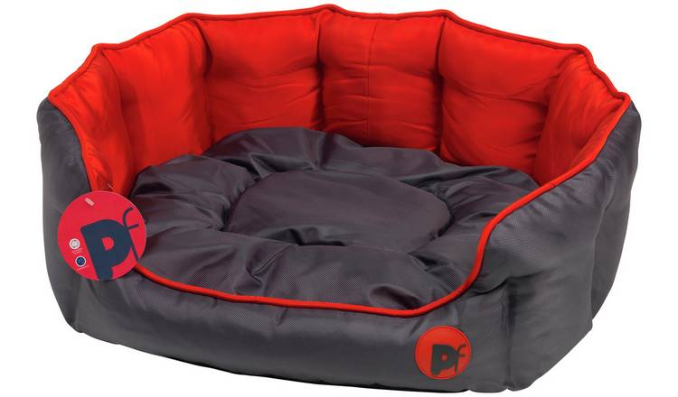Remarkable Buy Oxford Oval Red Dog Bed Large Dog Beds Argos Evergreenethics Interior Chair Design Evergreenethicsorg