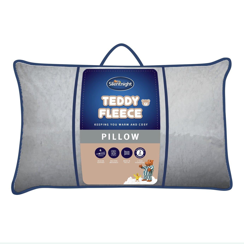 Silentnight Teddy Fleece Pillow