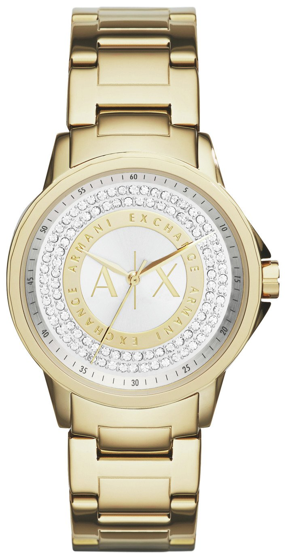 Armani Exchange Ladies' AX4321 Gold Tone Bracelet Watch
