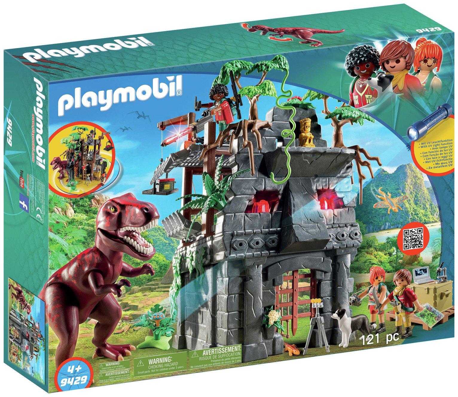 Playmobil 9429 Dinos Hidden Temple With T Rex