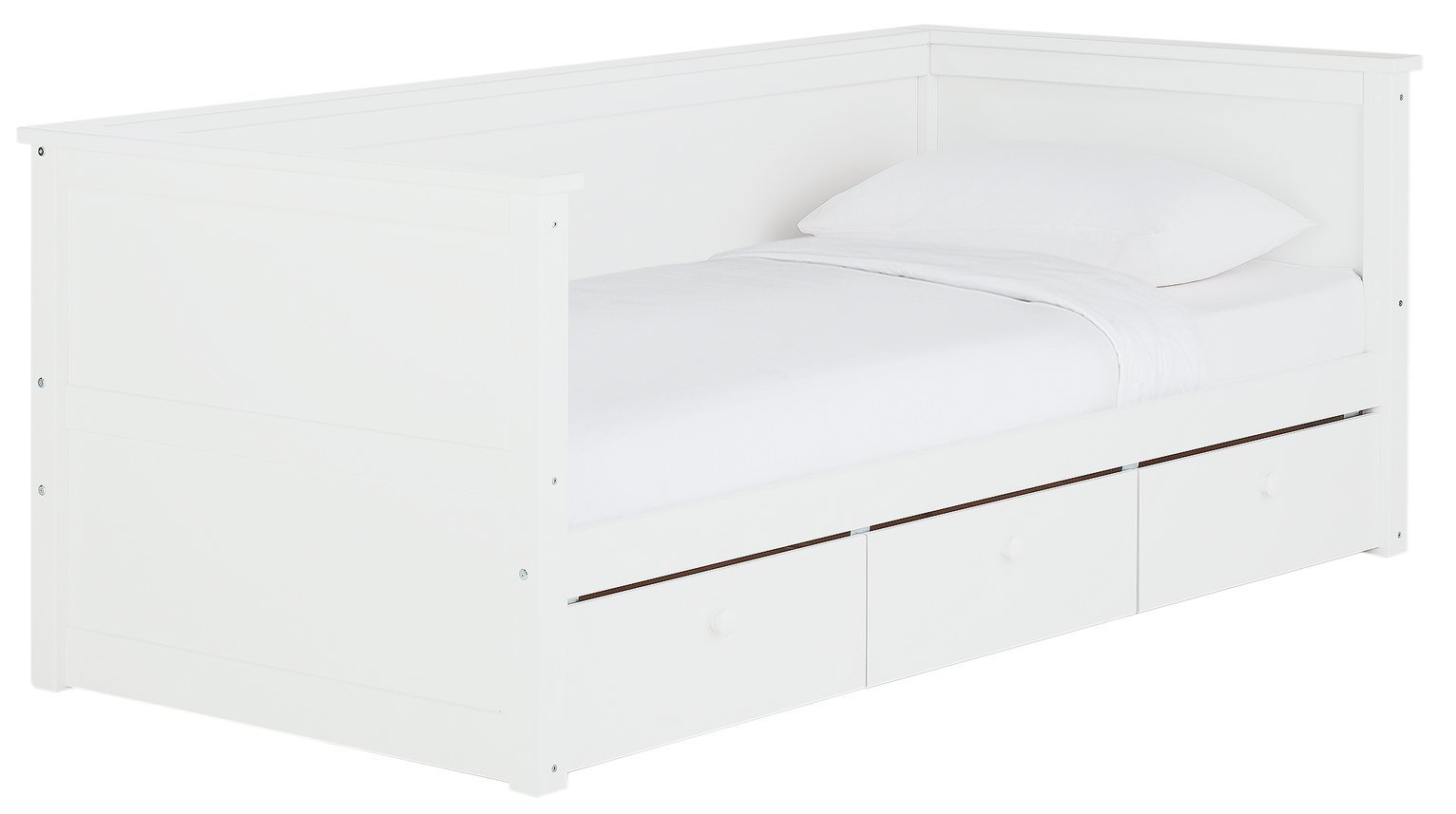 Argos Home Kingston Wooden Day Bed - White