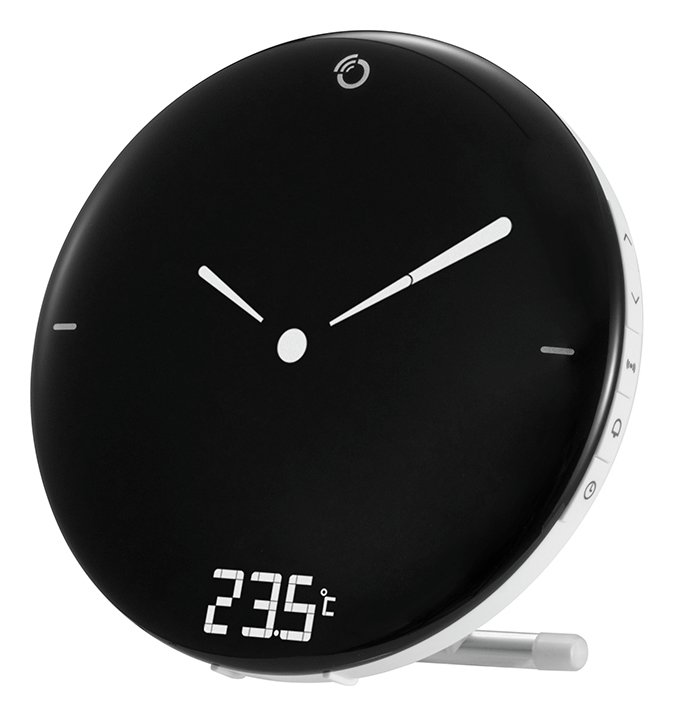 Oregon Digital Alarm Clock with Analogue Display