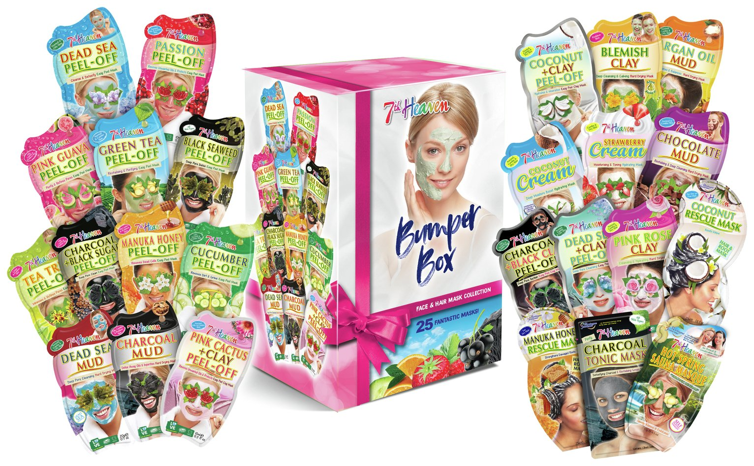 7th Heaven Face Mask Gift Bumper Pack