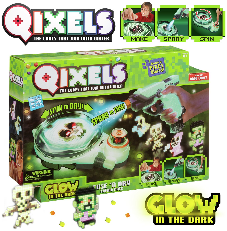 Qixels Glow Fuse n' Dry
