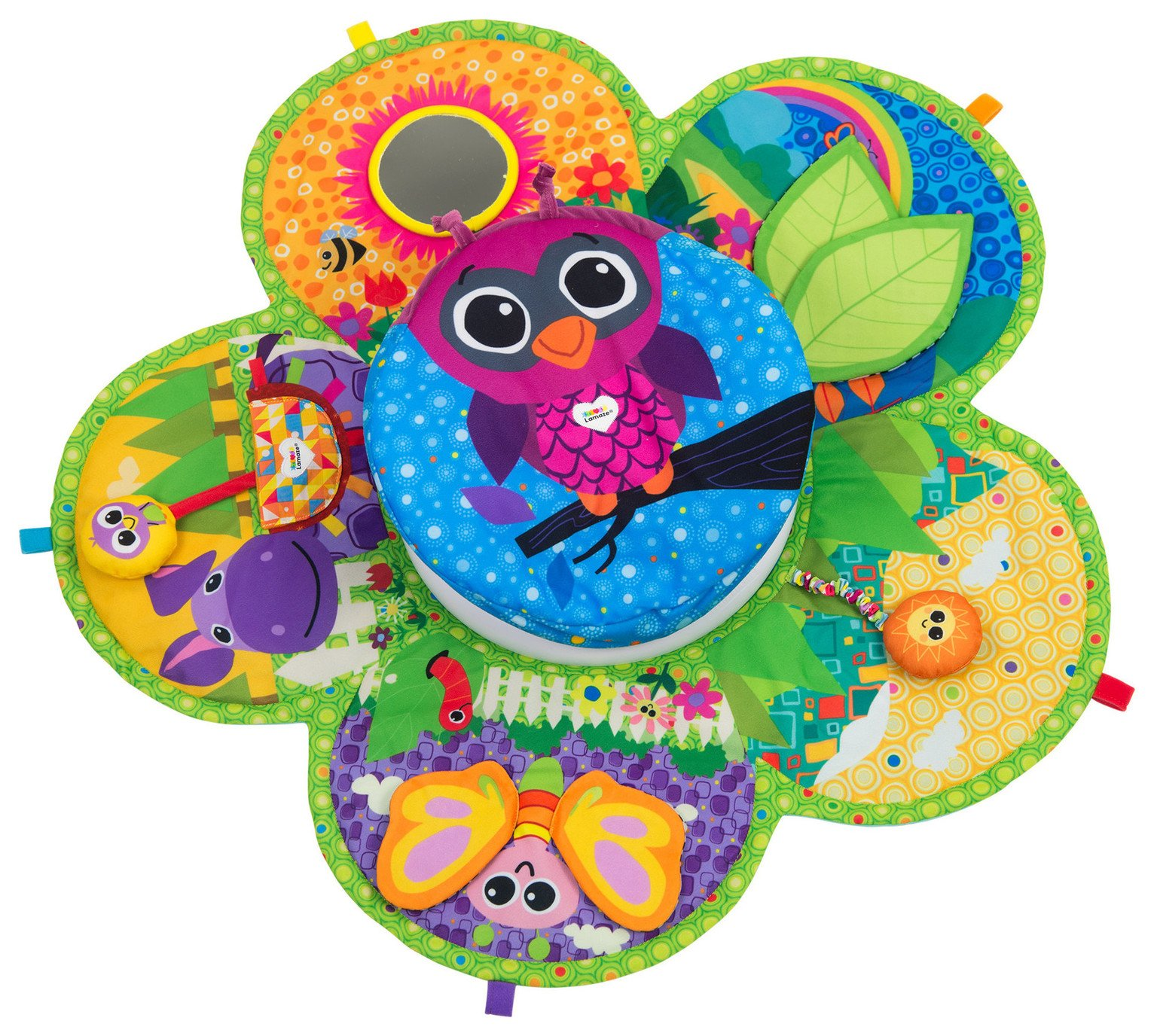Lamaze Spin & Explore Garden Gym Olivia the Owl