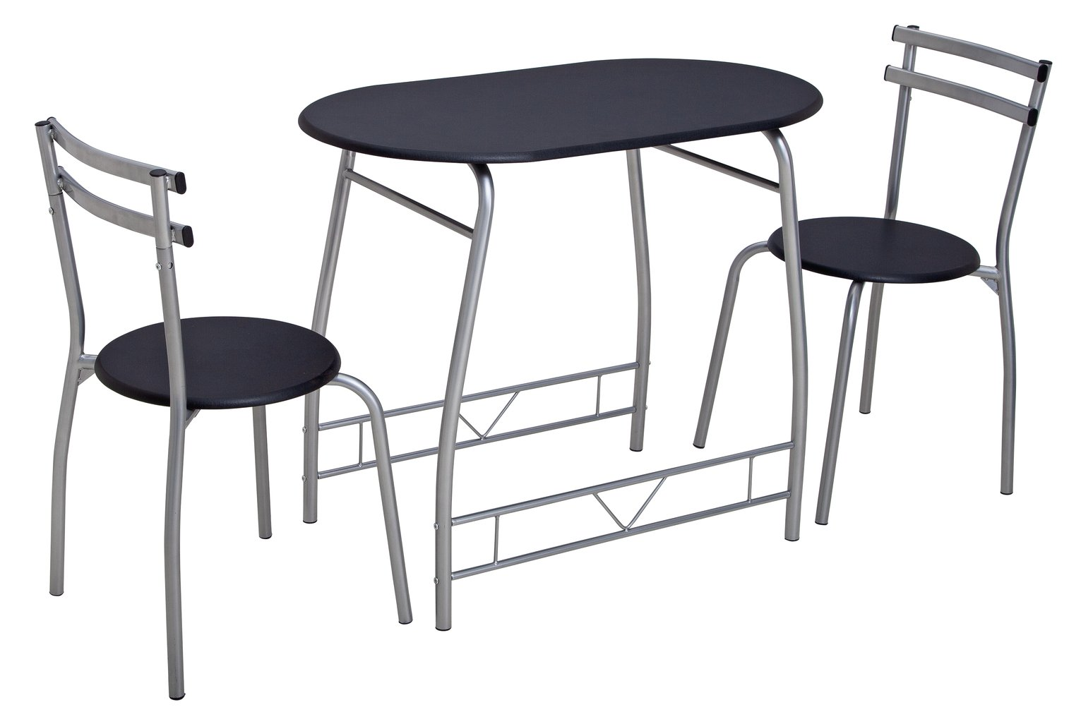 Home Vegas Oak Effect Dining Table And 2 Chairs