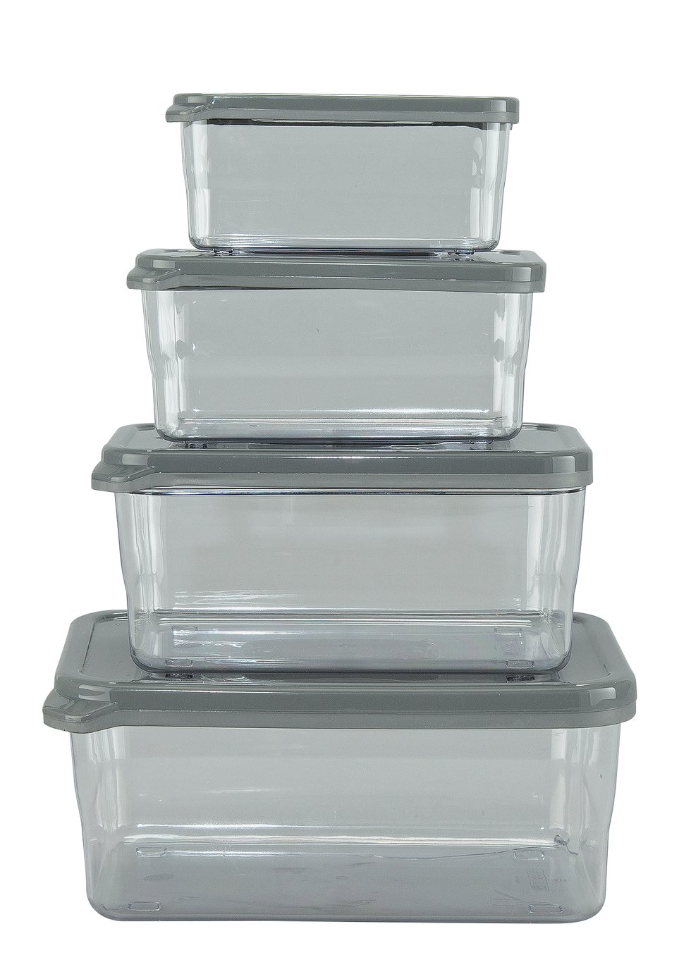 Thumbs Up Set of 4 Rectangular Nesting Food Containers review