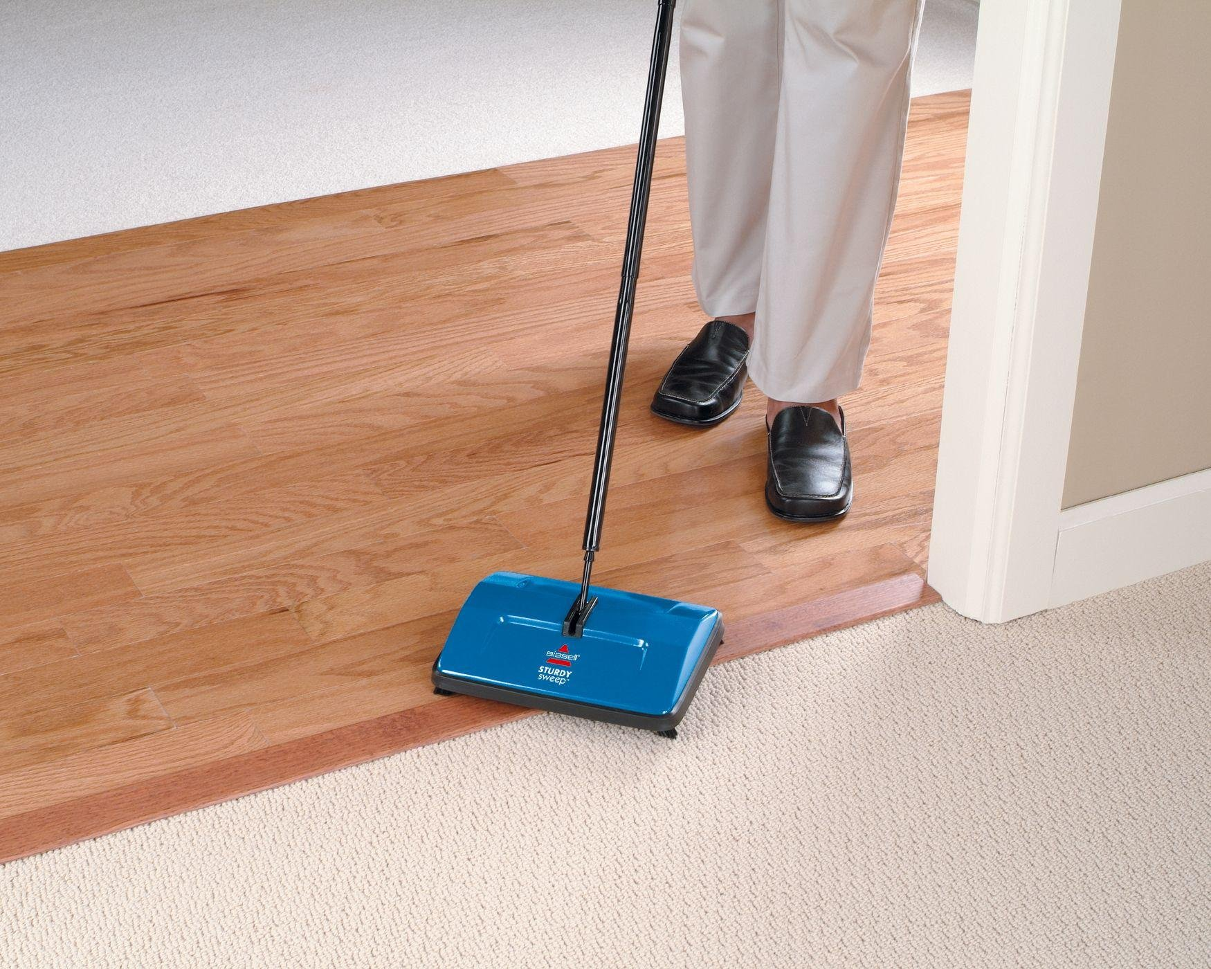 Image of Bissell - 2314E Sturdy Sweep Manual - Floor Sweeper
