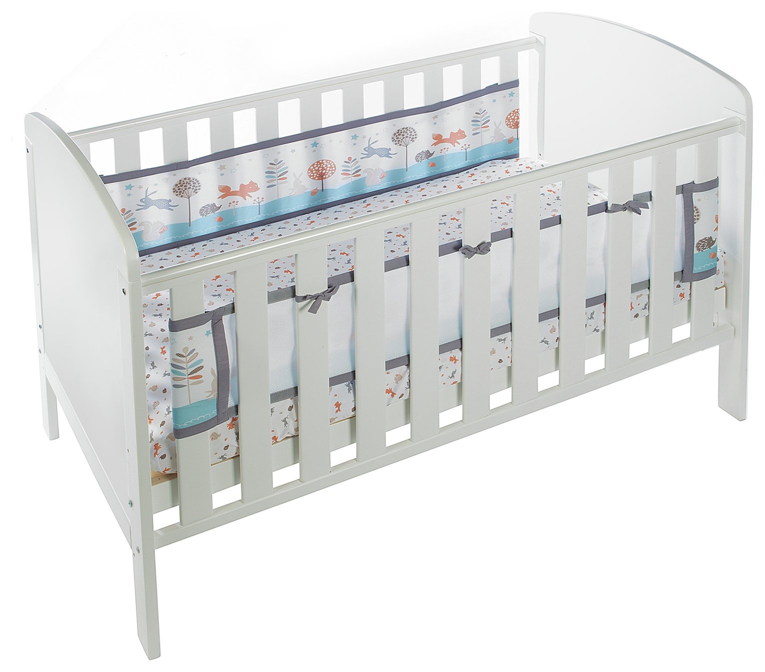 BreathableBaby 2 Sided Cot Liner - Enchanted Forest