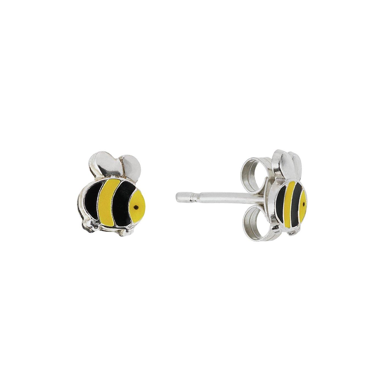 Revere Sterling Silver Bumble Bee Stud Earrings by Argos