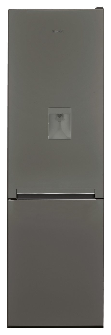 Hotpoint H8A1ESBWTD Low Frost Fridge Freezer - Gun Metal