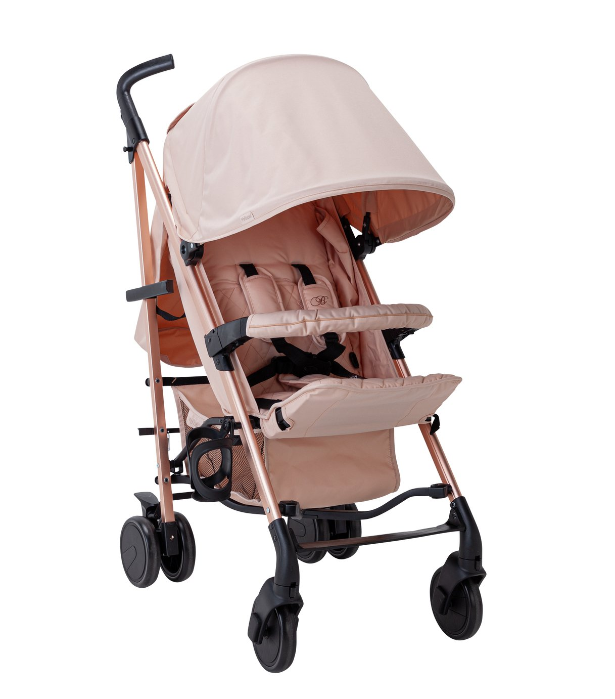 My Babiie Billie Faiers MB51 Stroller - Rose & Blush