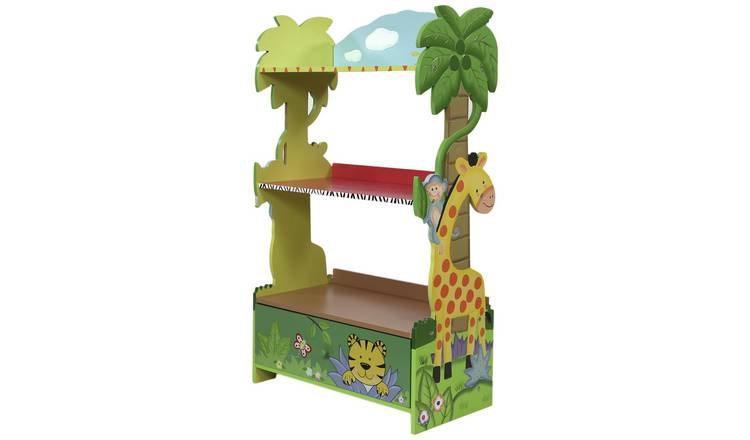 78a4123ab7cf Buy Fantasy Fields Sunny Safari Kids Children's Bookcase | Kids toy boxes  and storage | Argos