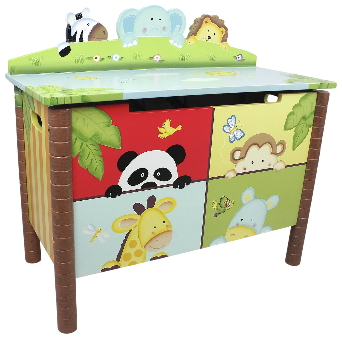 Fantasy Fields Sunny Safari Kids Toy Chest