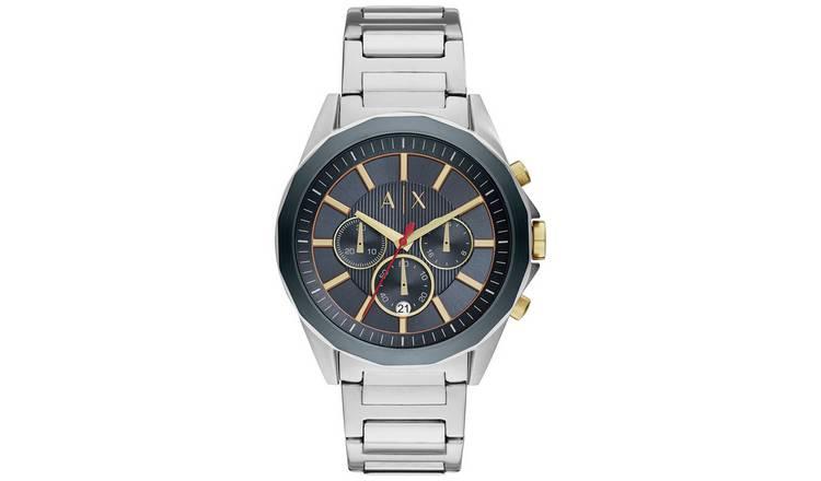 2fb50e767 Buy Armani Exchange Men's Silver Chronograph Watch | Men's ...