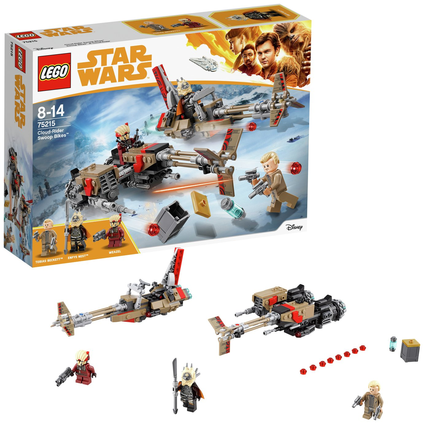 LEGO Star Wars Cloud Rider Swoop Bikes - 75215
