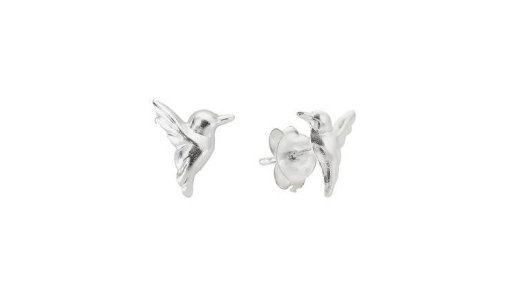 a8afaea9 Buy Revere Sterling Silver Hummingbird Stud Earrings | Womens earrings |  Argos