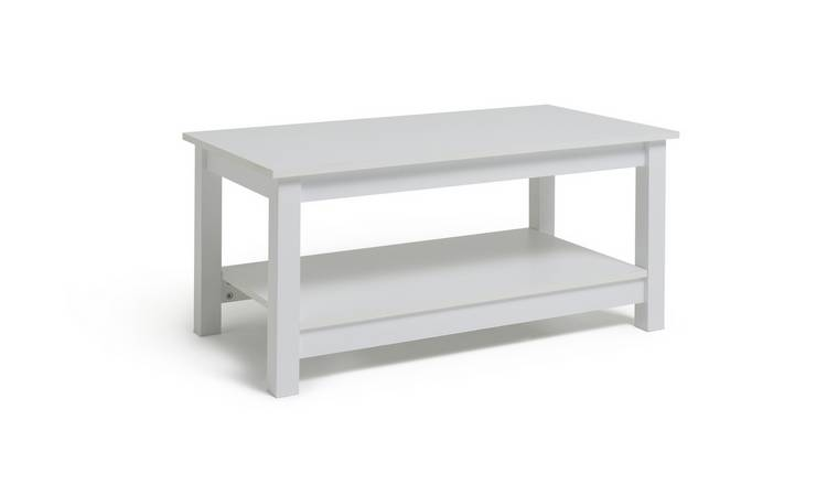 Habitat Malibu Coffee Table - White