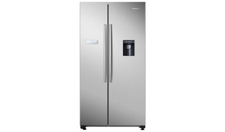 Buy Hisense RS741N4WC11 Fridge Freezer - Silver   Fridge freezers   Argos