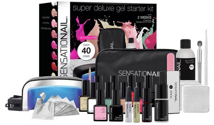 Buy SensatioNail Gel Nail Polish Deluxe Starter Kit | Nails | Argos