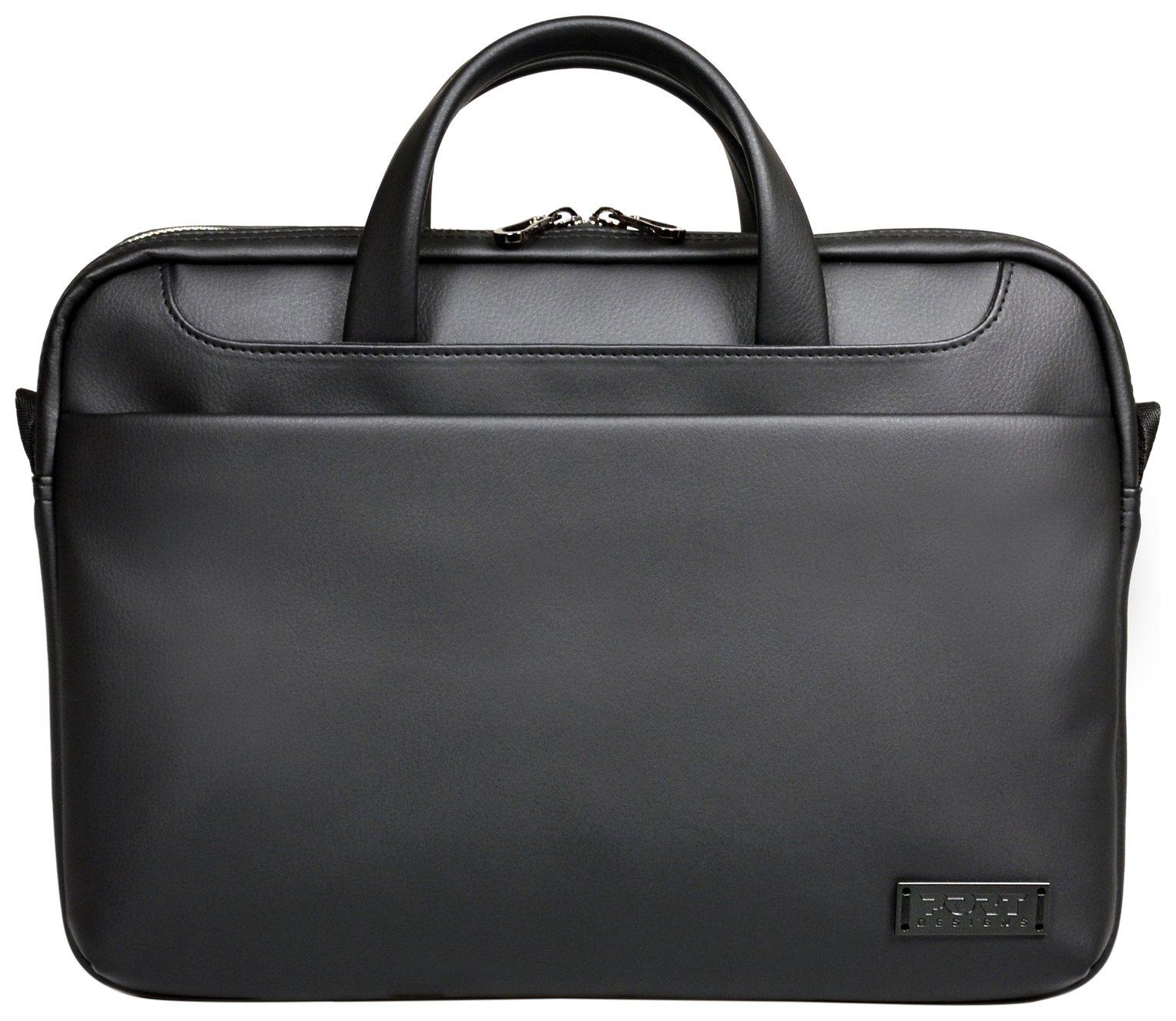 Port Designs Zurich Toploader 14-15 Inch Laptop Bag - Black