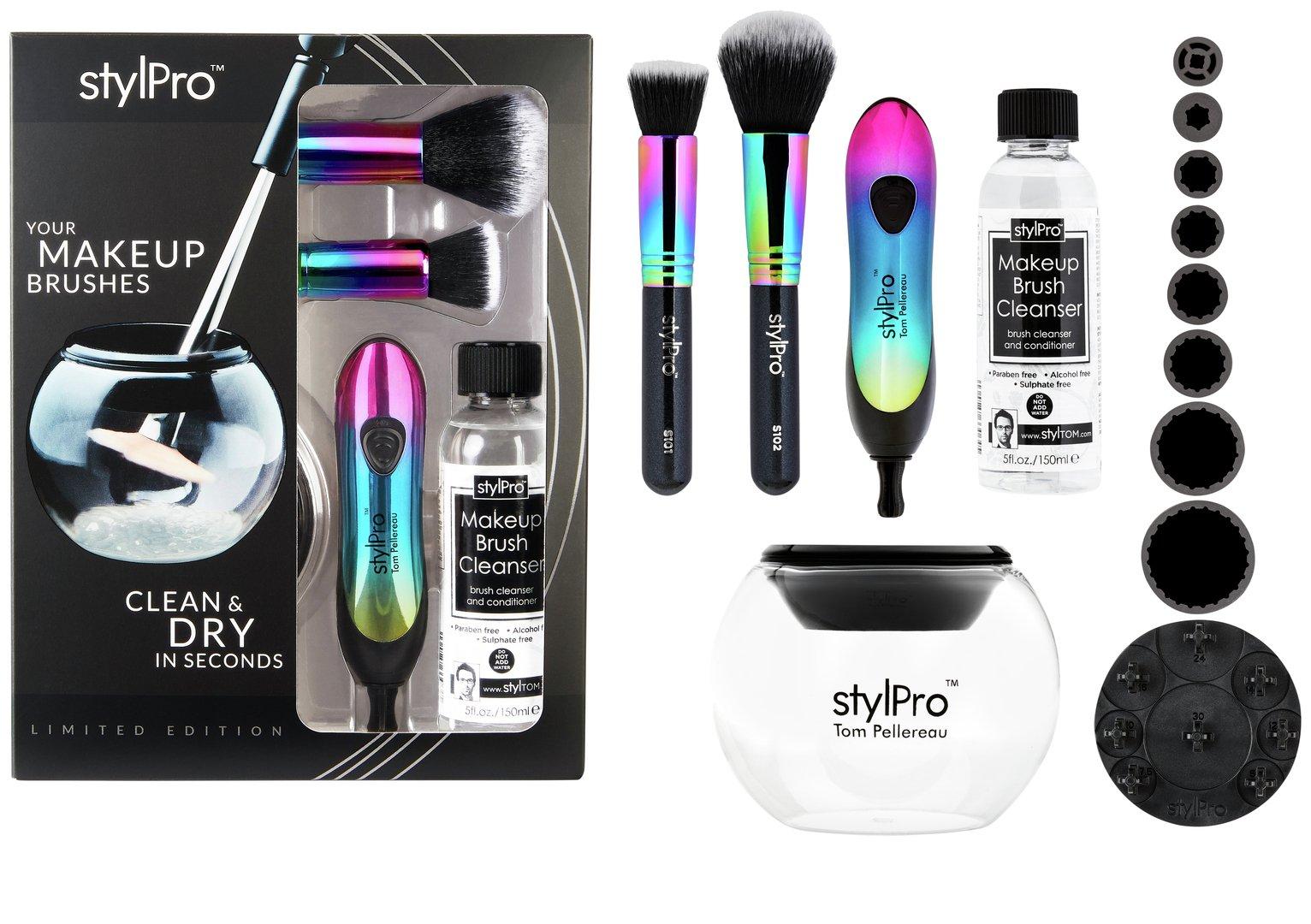StylPro Iridescent Rainbow Make-up Brush Cleaner