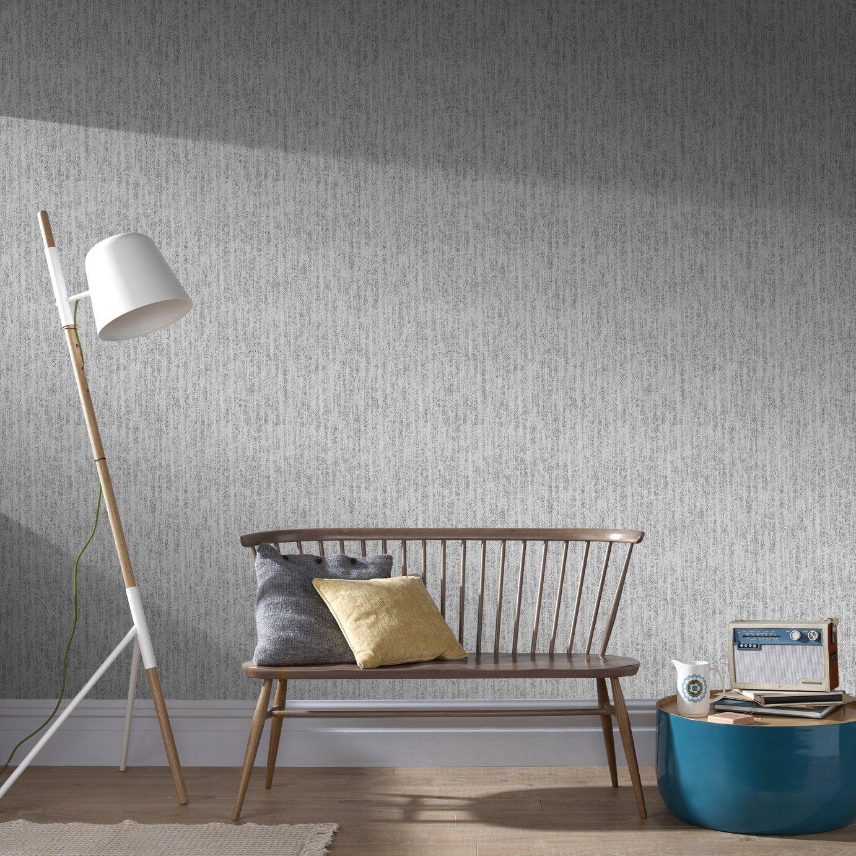 Boutique Devore - Silver Wallpaper