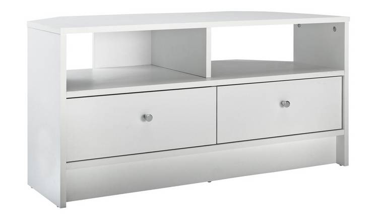 Remarkable Buy Argos Home Malibu Corner Tv Unit White Tv Stands Argos Download Free Architecture Designs Grimeyleaguecom