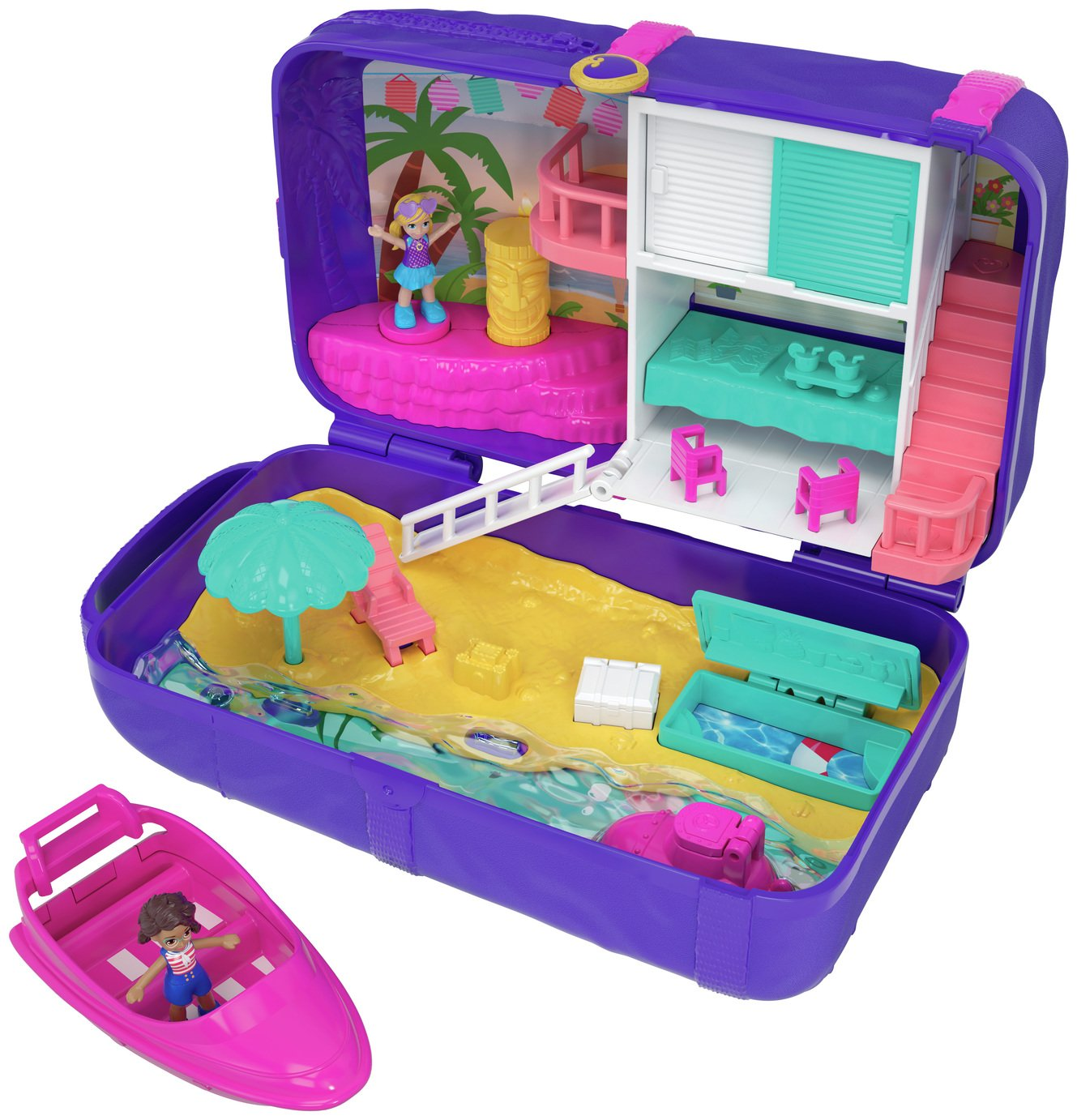 Polly Pocket Hidden Places Beach Vibes Backpack