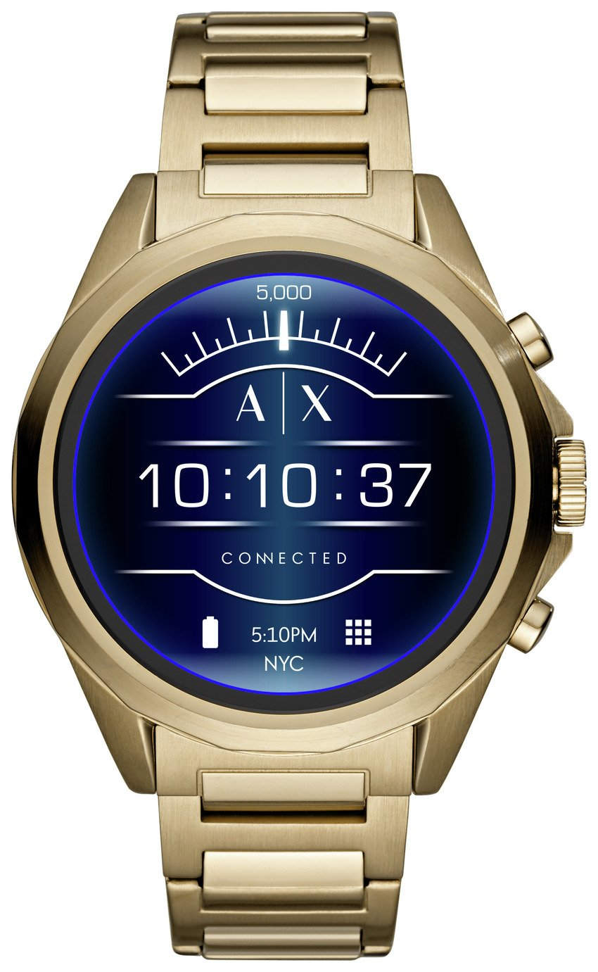 Armani Exchange Connected Smart Watch - Gold