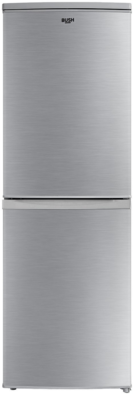 Bush M50152FFS Frost Free Fridge Freezer - Silver