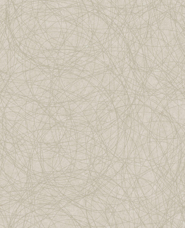 Boutique Twist Wallpaper - Taupe & Silver