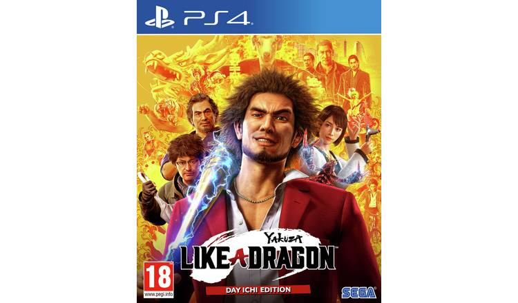 Yakuza: Like A Dragon PS4 Game