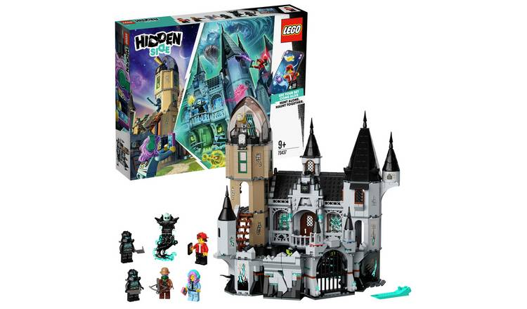 LEGO Hidden Side Mystery Castle AR Games App Set 70437
