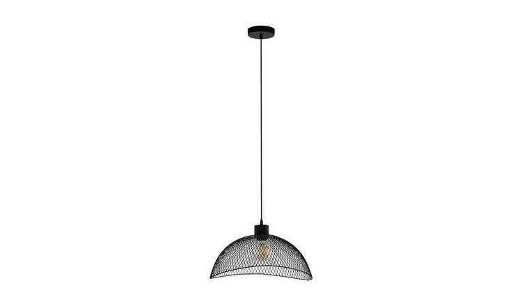 Eglo Pompeya Mesh Pendant Light - Black