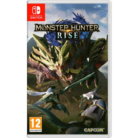 Monster Hunter Rise Nintendo Switch Game Pre-Order