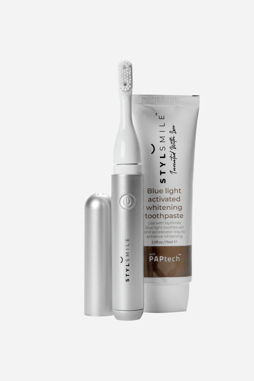 Stylsmile Toothbrush and Whitening Paste