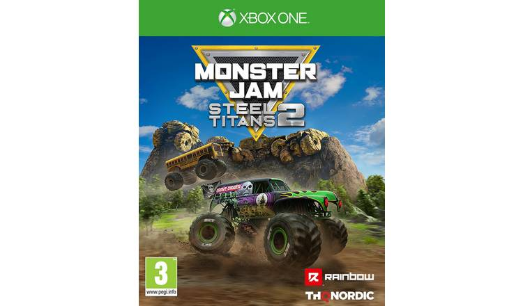Monster Jam: Steel Titans 2 Xbox One Game
