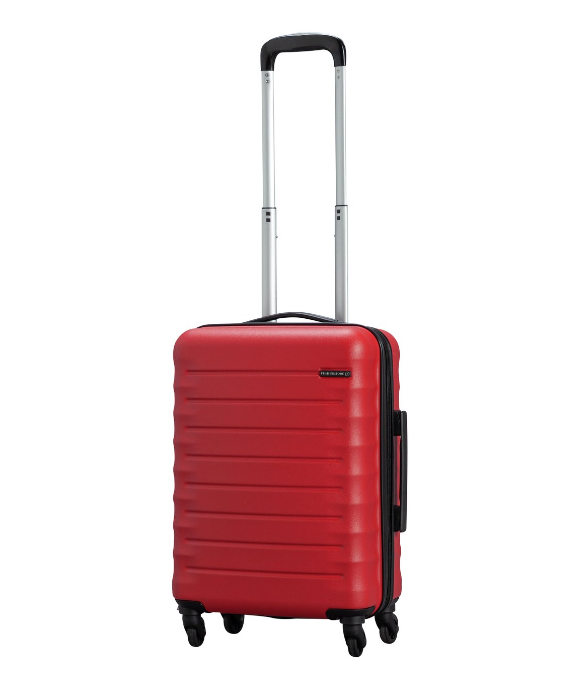 Featherstone 4 Wheel Hard Cabin-Sized Suitcase - Red