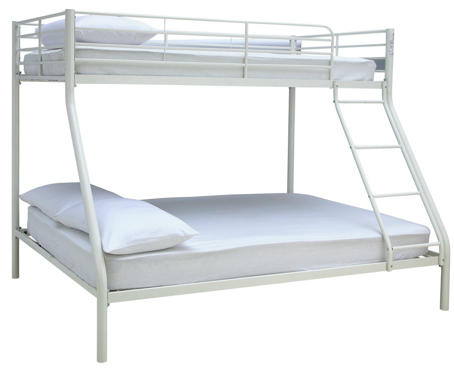 Argos Home Willen White Triple Bunk Bed