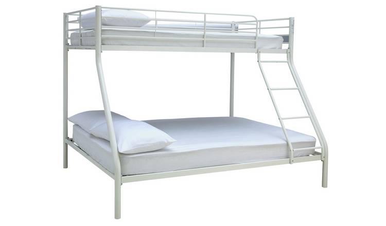 Buy Argos Home Willen Triple Metal Bunk Bed White Kids Beds Argos