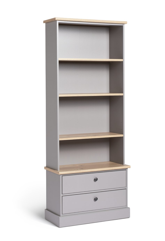 Habitat Winchester Bookcase - Grey