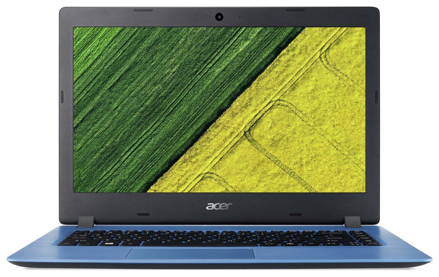 Acer Aspire 1 14 Inch Celeron 4GB 32GB Cloudbook - Blue